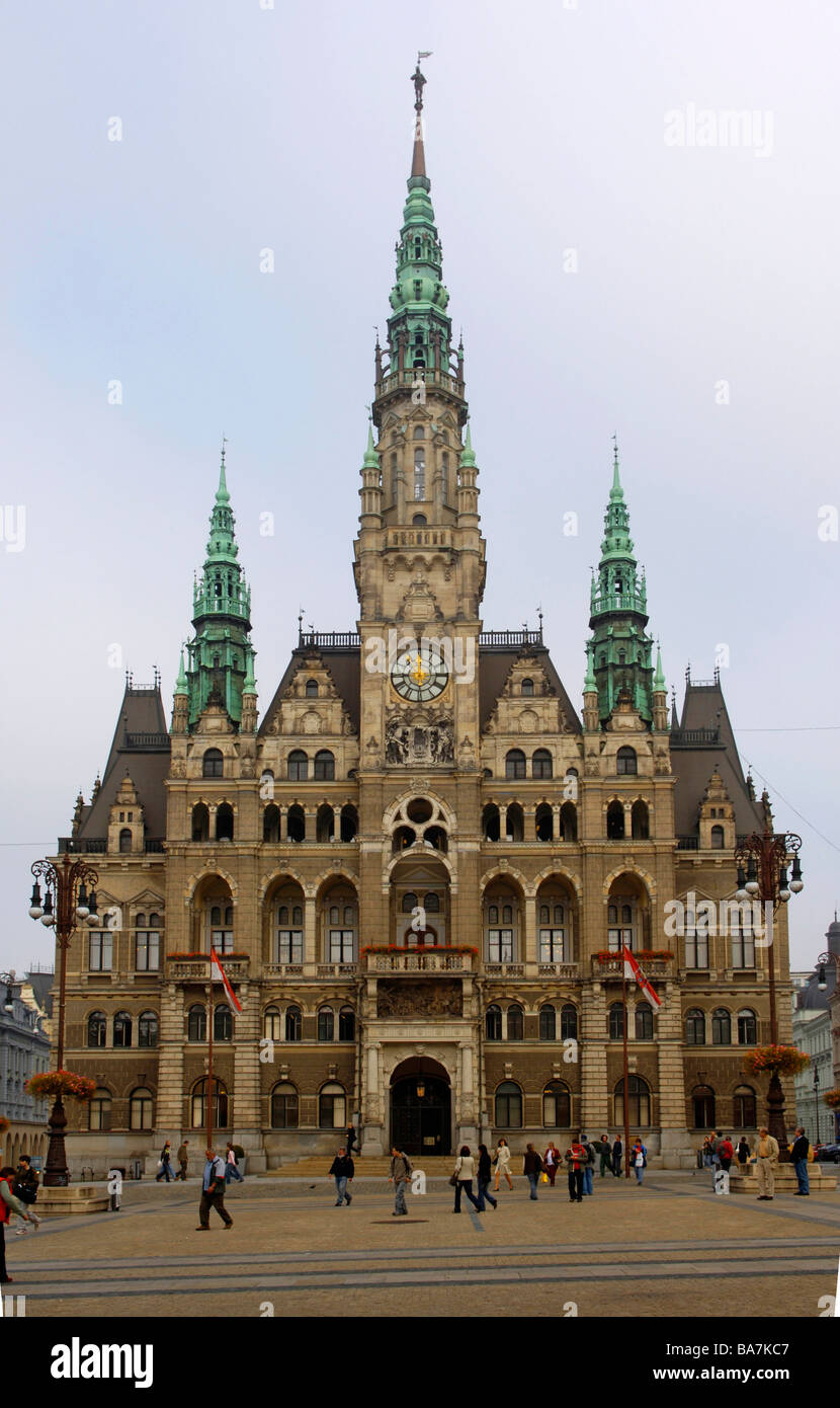 Town hall, Liberec, Czech Republic Stock Photo