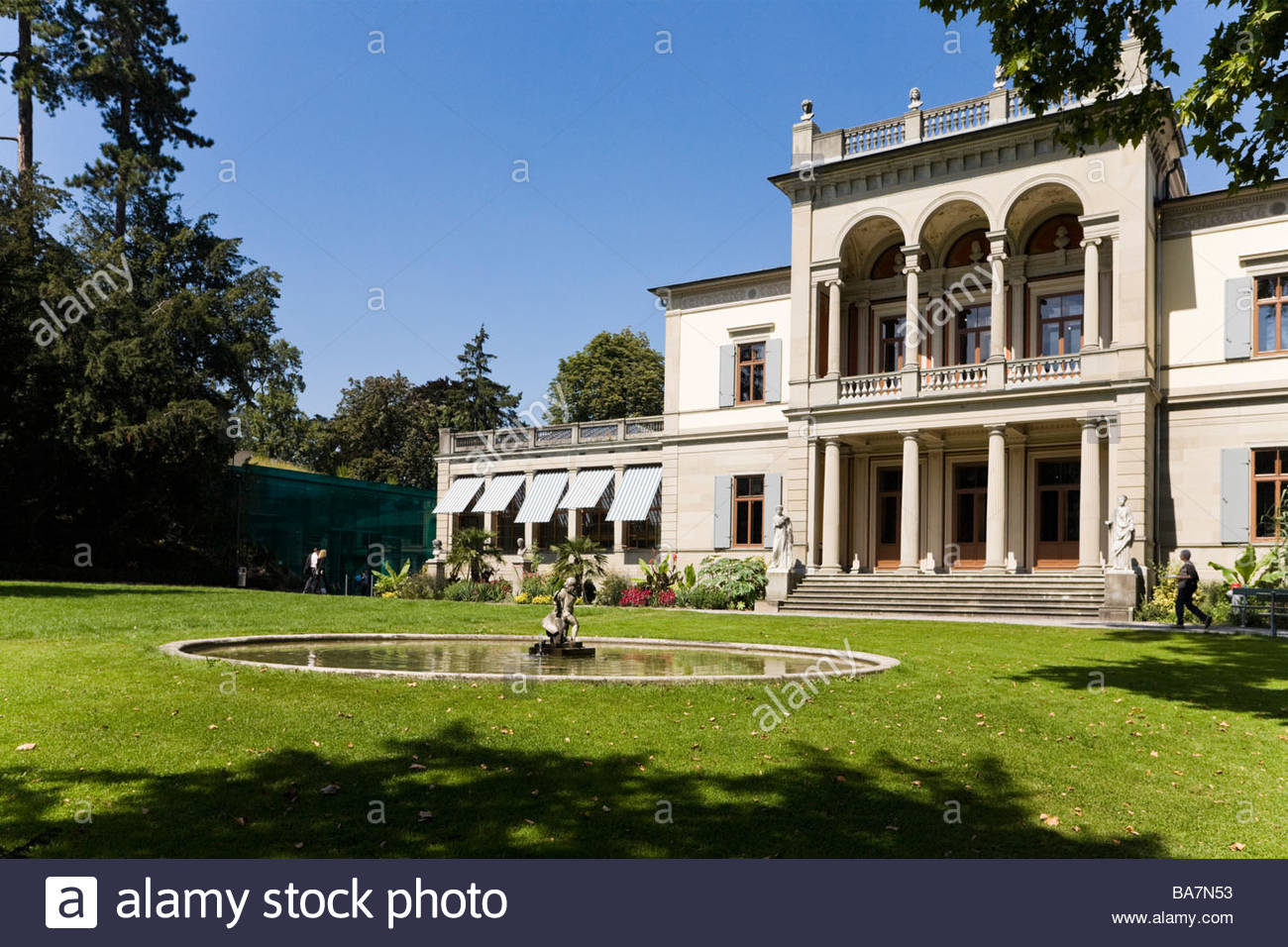 Rietberg Museum, Art collections from Asia, Africa, America and Oceania, Gablerstrasse, Zurich, Switzerland - Stock Image