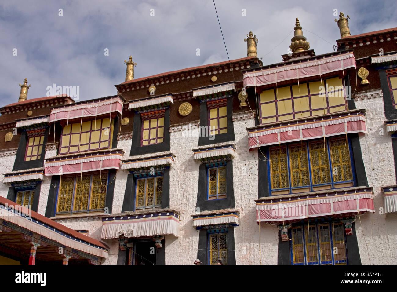 the Sera Monastery, Lhasa, Tibet - Stock Image