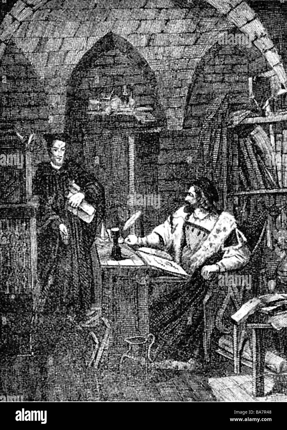 Faust, Johann Georg, 1480 - 1540, German magician