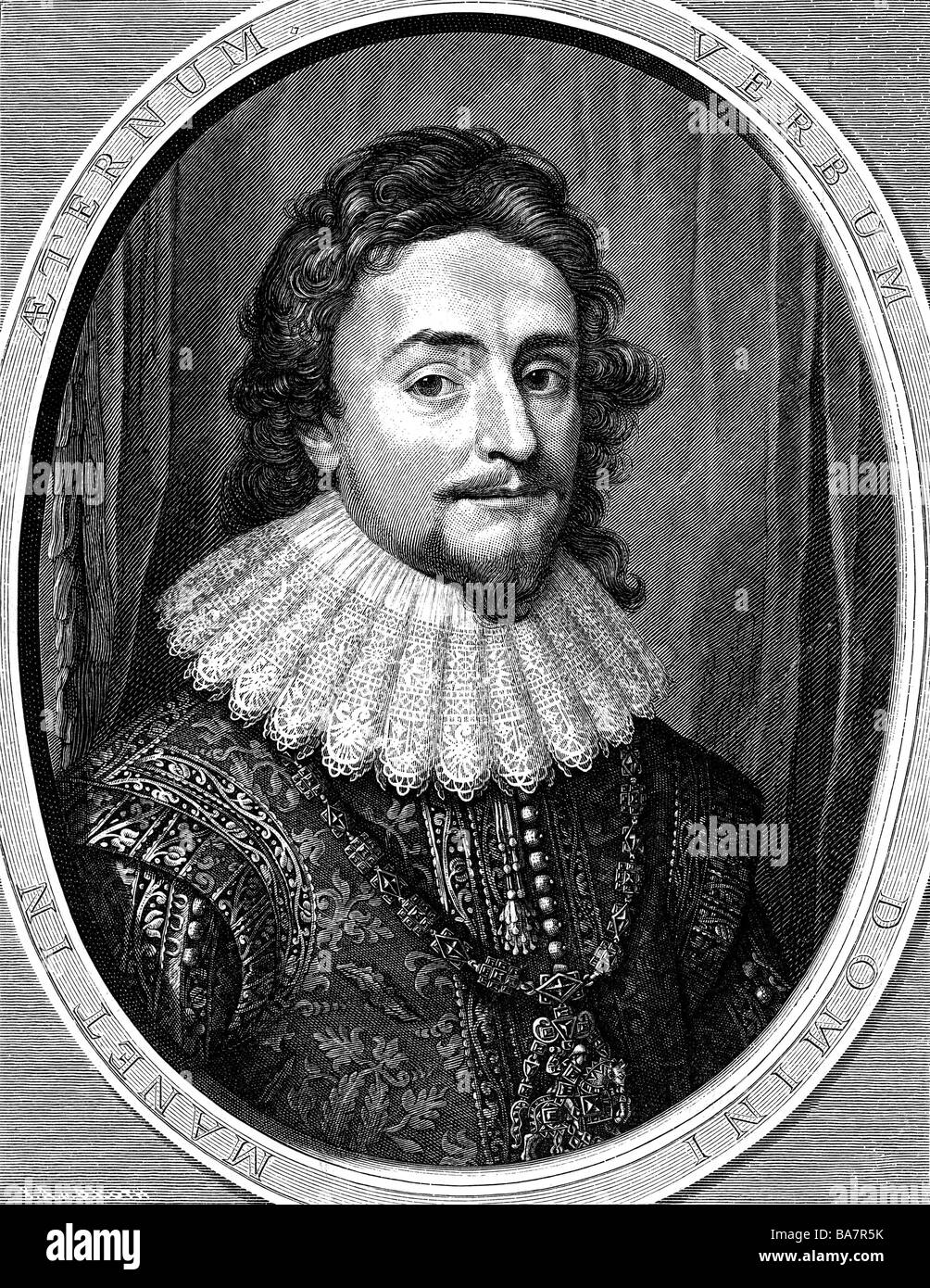 Frederick V, 16.8.1596 - 21.9.1632, Elector Palatinate 19.9.1610 - 23.2.1623 and King of Bohemia 25.10.1619 - 9.11.1620, Stock Photo