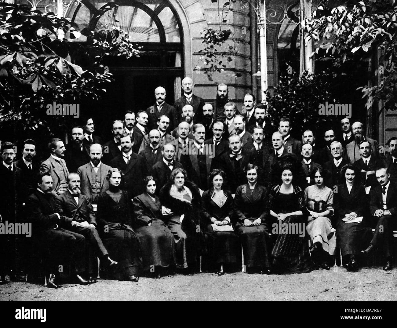 Freud, Sigmund, 6.5.1856 - 23.9.1939, Austrian physician, founder of the psychoanalytic school of psychology, second - Stock Image
