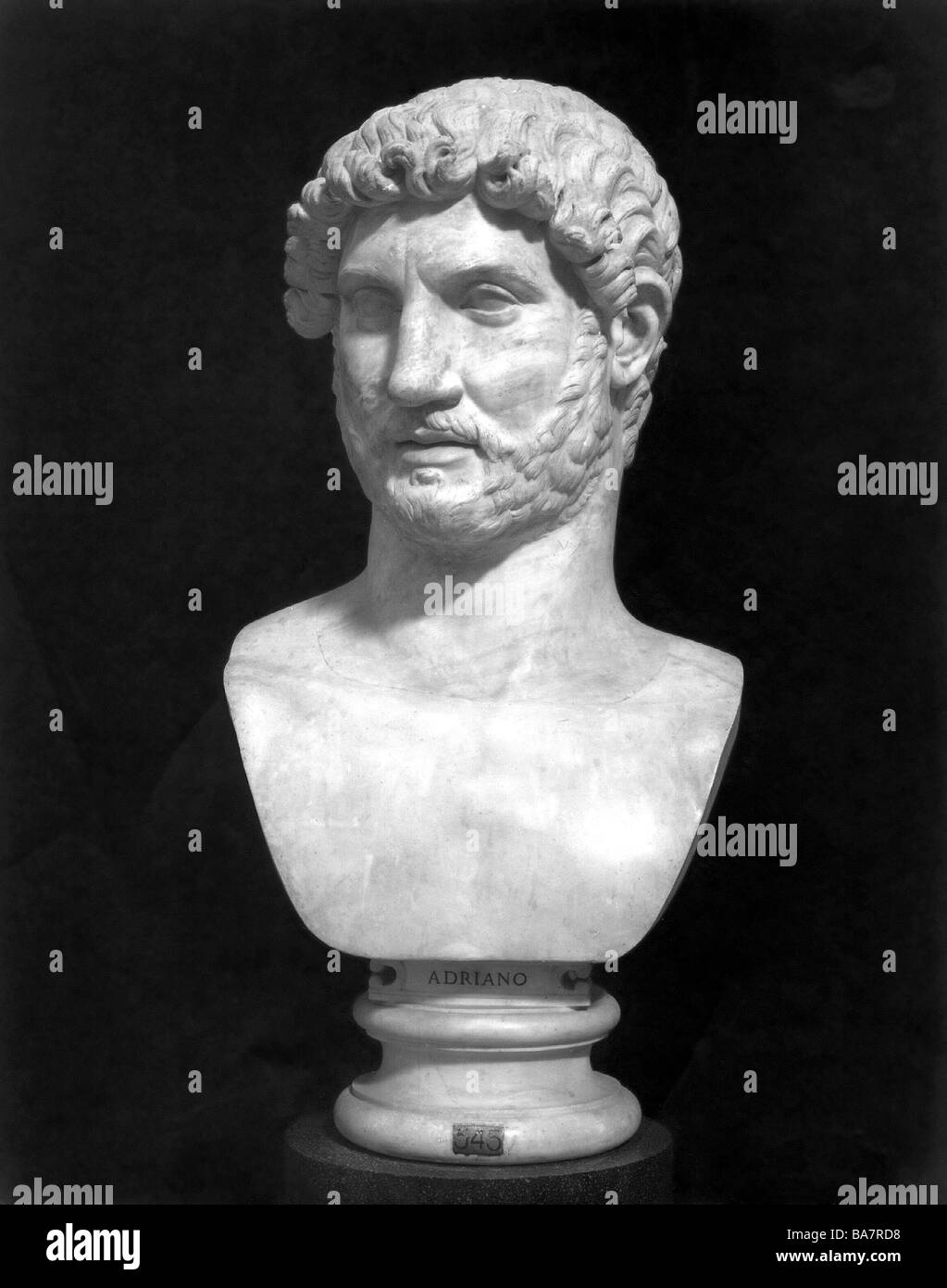 a biography of aelius hadrianus the roman emperor Publius aelius hadrianus (who lived from 76 ad to 138 ad) was born to a senator of the roman senate his family settled in spain, which was then part of the empire, and he spent lots of time there.