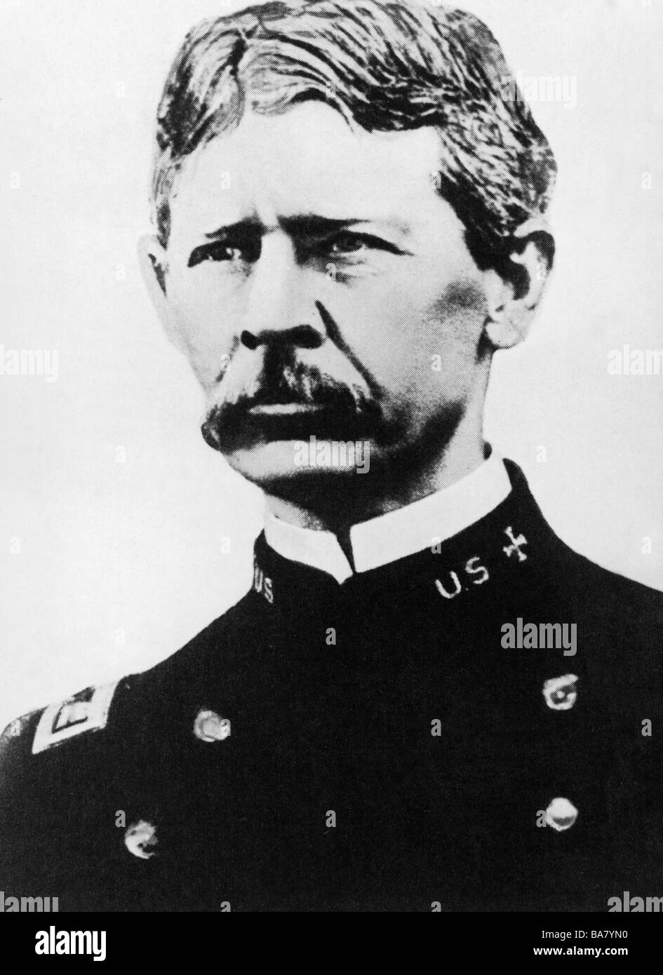 Reed, Walter, 13.9.1851 - 22.11.1902, US bacteriologist, as military physician, leader of the US Army Yellow Fever - Stock Image
