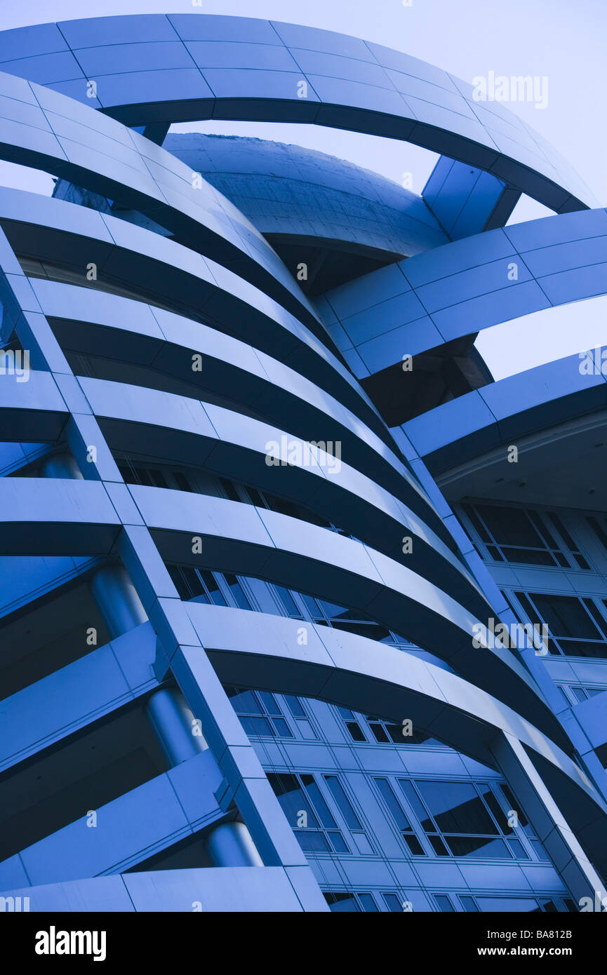 India Bombay Nathalal Parekh Marg Building detail Asia South-Asia city capital destination city-dweller-ice high - Stock Image