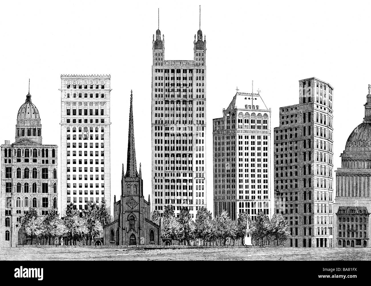 geography travel usa new york buildings new york world stock photo 23533774 alamy. Black Bedroom Furniture Sets. Home Design Ideas