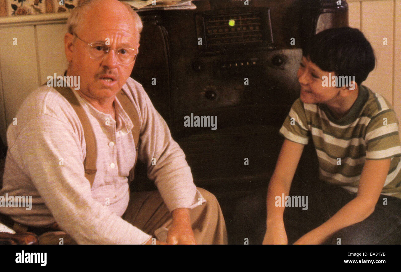 THE  BLACK STALLION - 1980 UA film with Mickey Rooney at left - Stock Image
