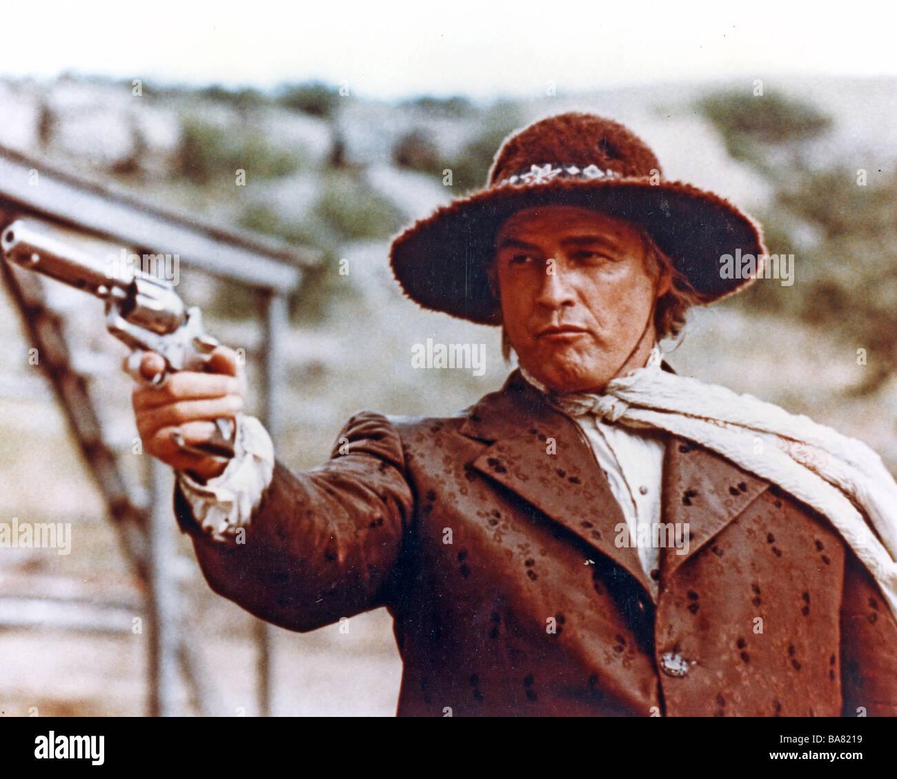 THE MISSOURI BREAKS  1976 UA film with Marlon Brando - Stock Image