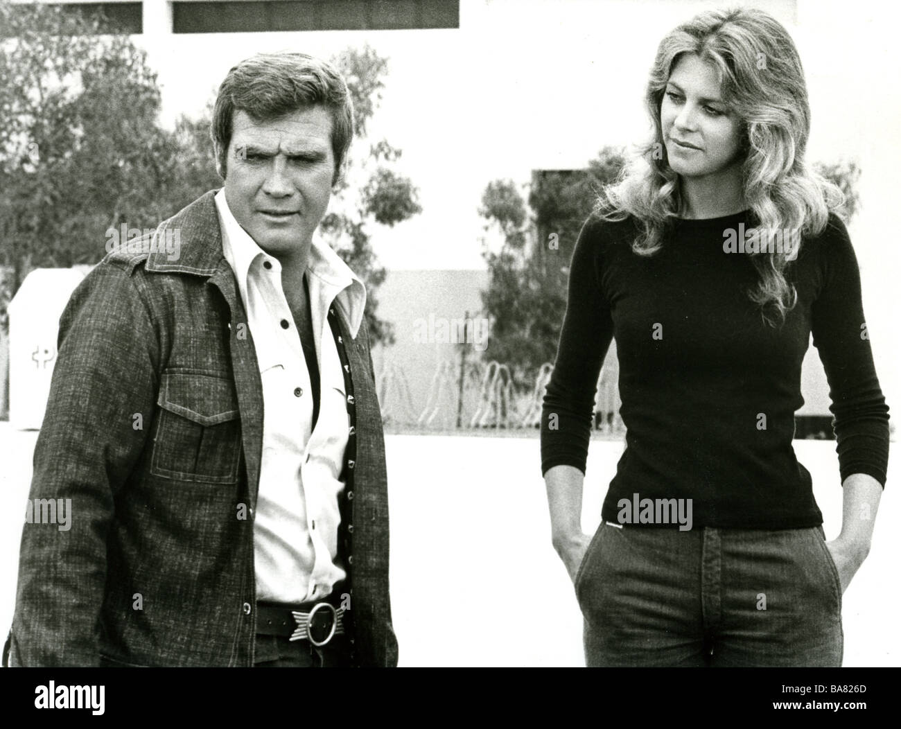 Six Million Dollar Man The Bionic Woman Us Tv Series With Lee Majors As Steve Austin And Lindsay Wagner As Jaime Sommers