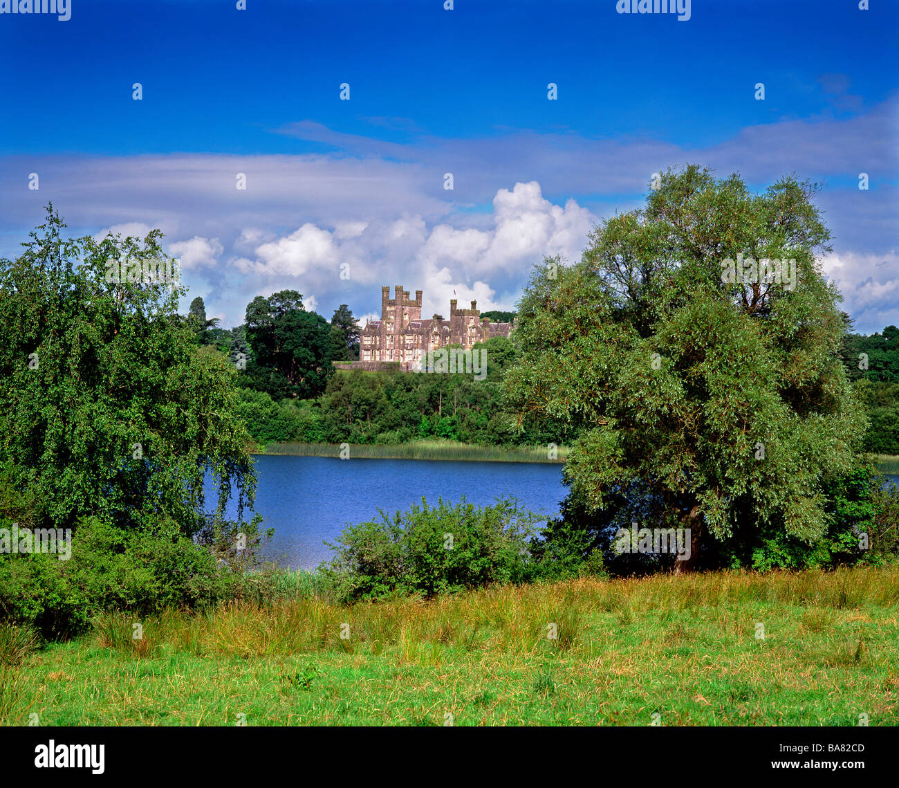 Crom Castle Co Fermanagh Northern Ireland - Stock Image
