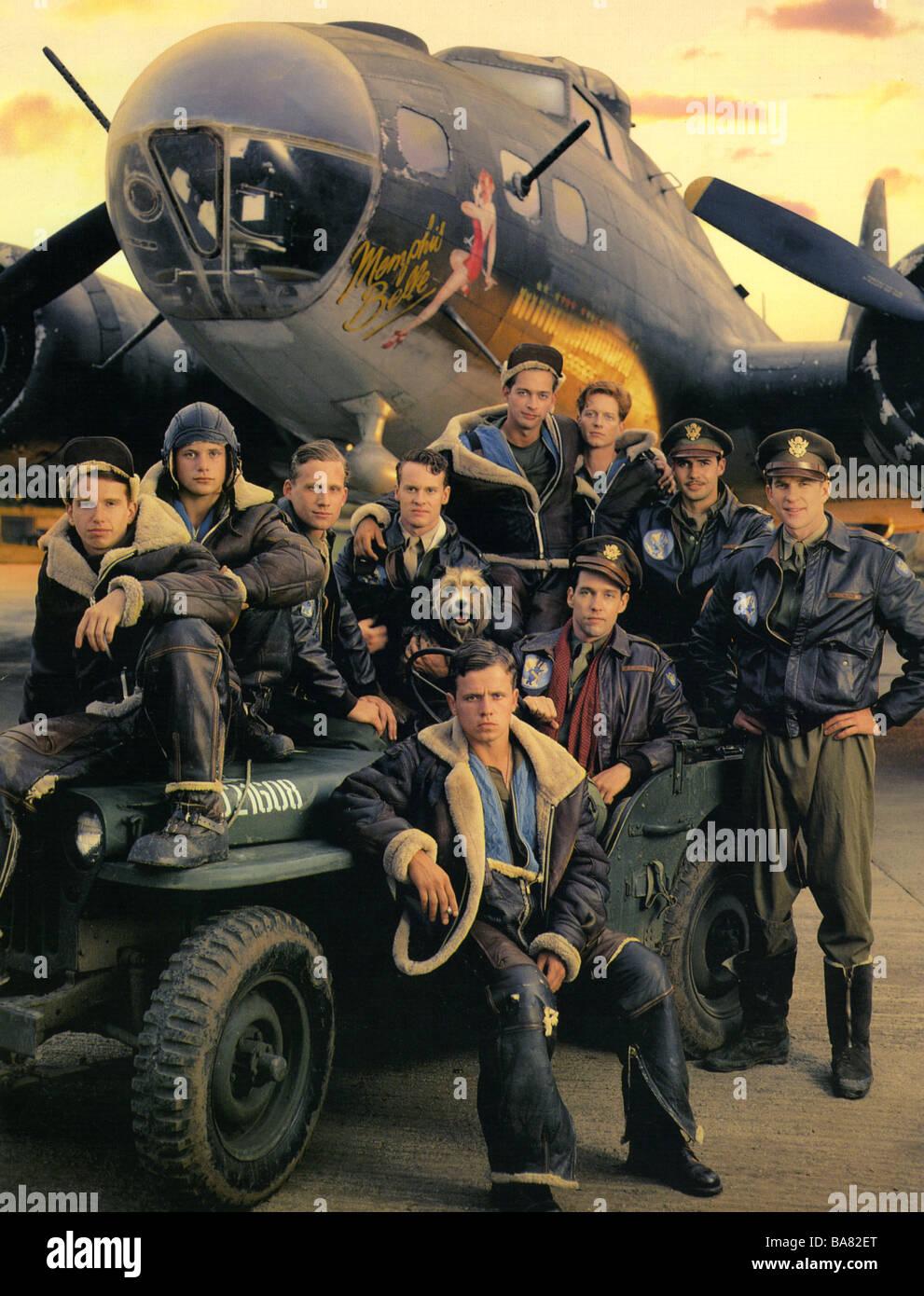 MEMPHIS BELLE 1990 Warner film with Matthew Modine - Stock Image