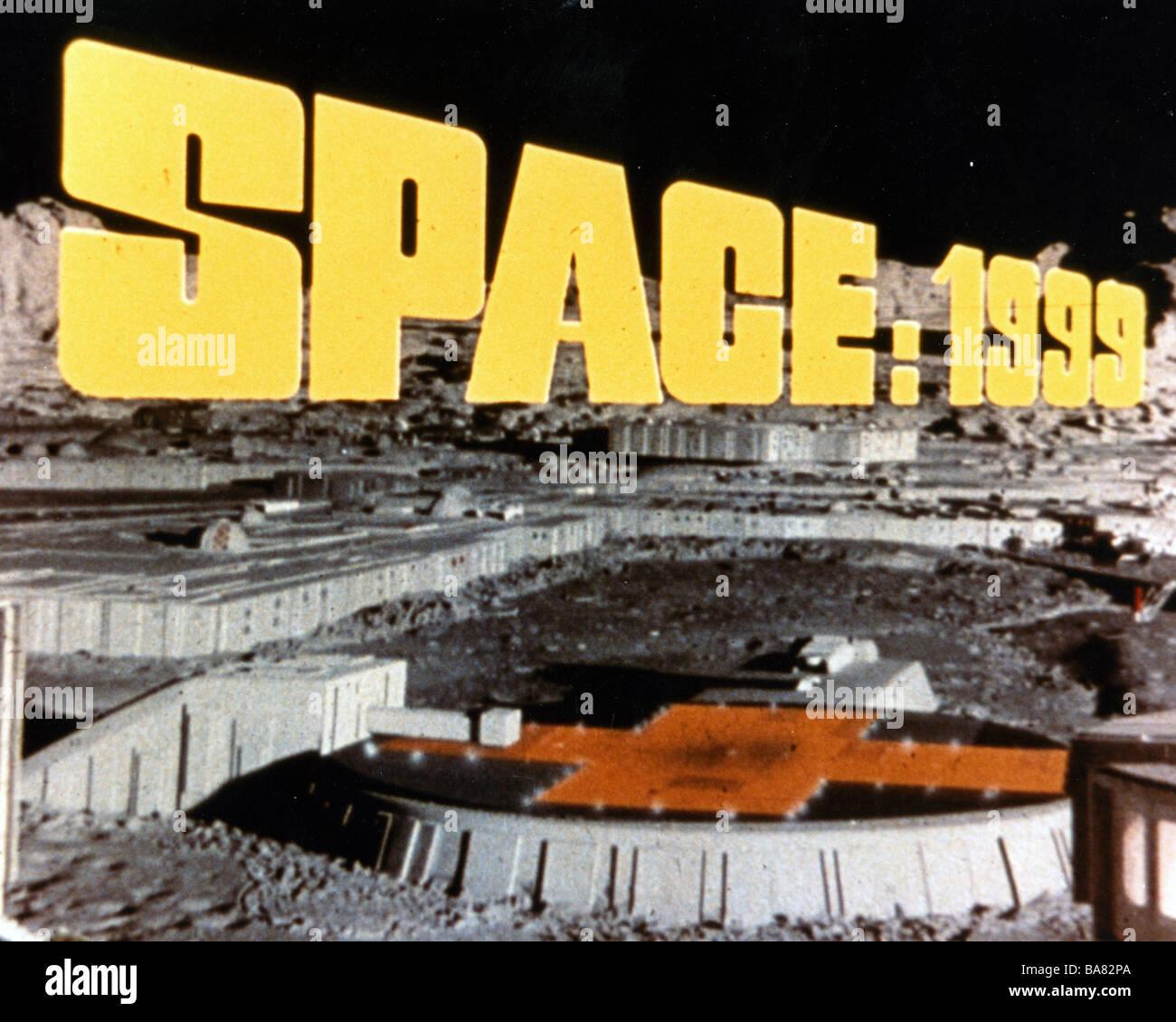 SPACE 1999  UK TV series - Stock Image