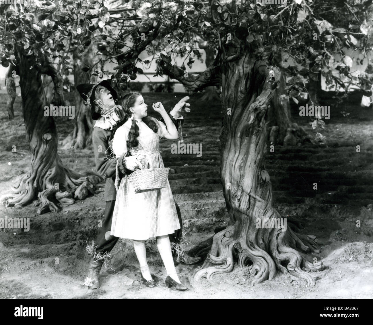THE WIZARD OF OZ  1939 MGM film - Stock Image