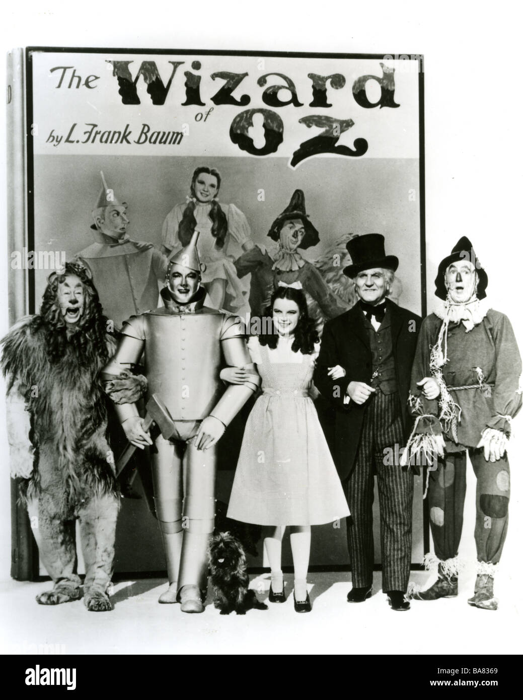 THE WIZARD OF OZ  1939 MGM film with Judy Garland based on book by L Frank Baum - Stock Image
