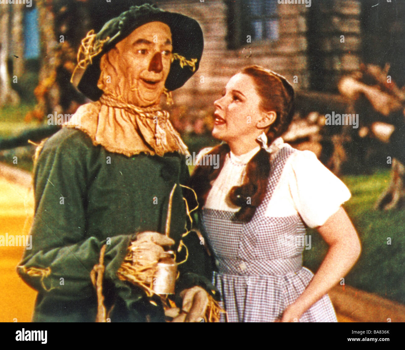 The wizard of oz dorothy stock photos the wizard of oz dorothy the wizard of oz 1939 mgm film with judy garland as dorothy and ray bolger as thecheapjerseys Choice Image