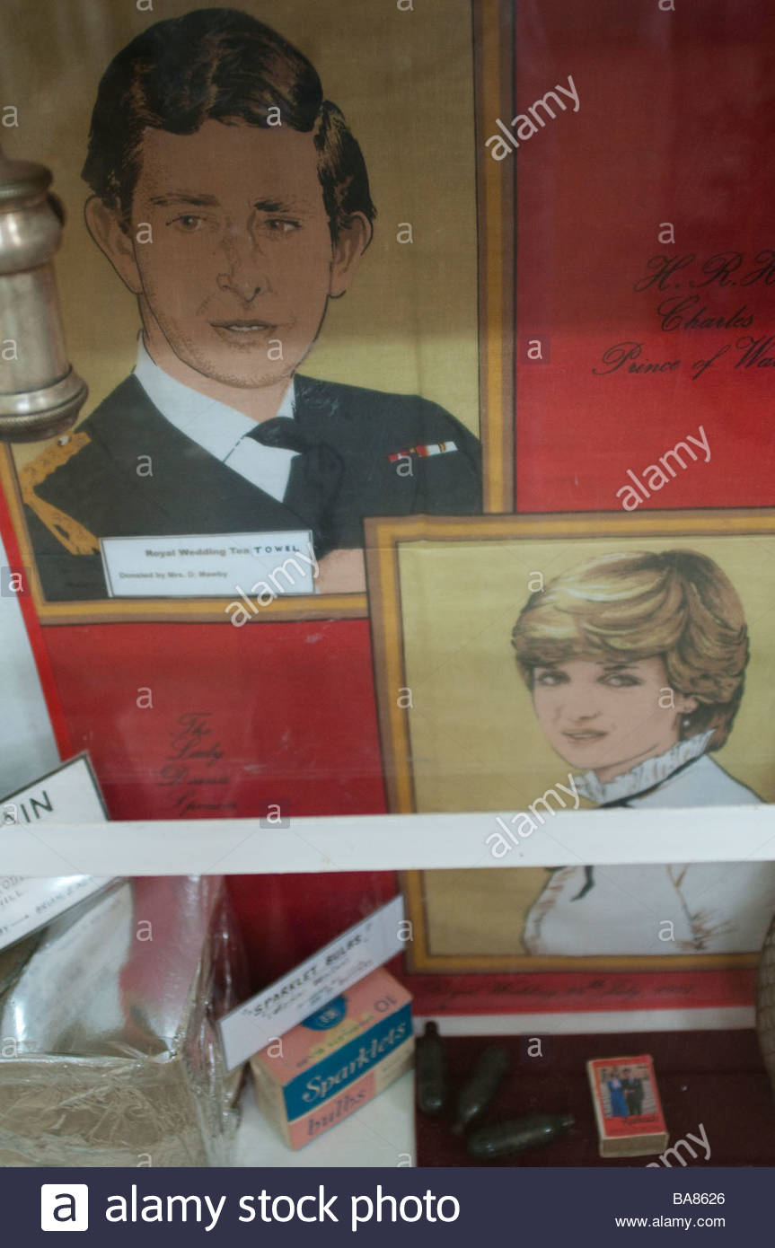Exhibit in Silverton Gaol Museum New South Wales Australia - Stock Image
