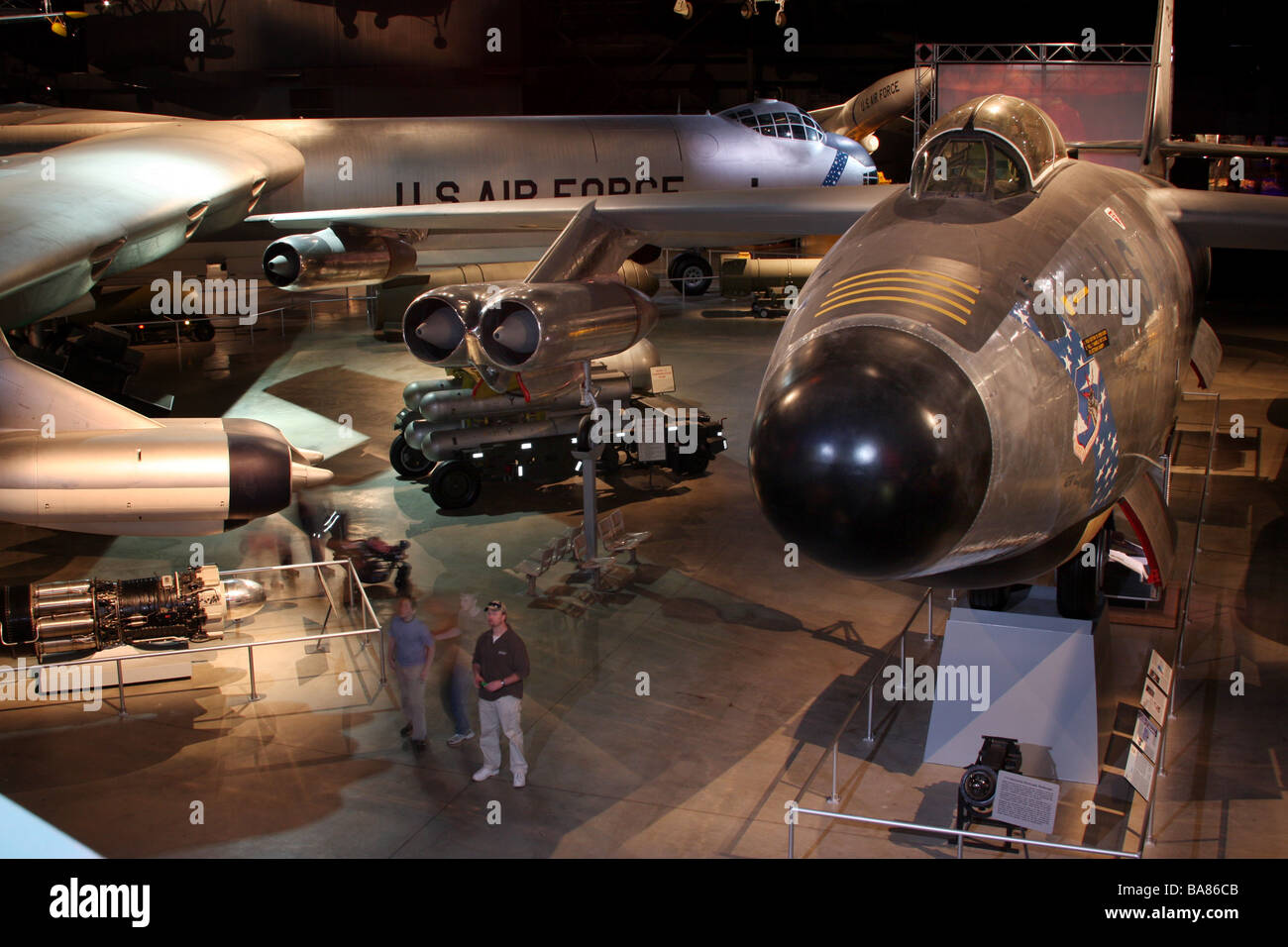 United States Air Force Museum Dayton Ohio wright patterson - Stock Image