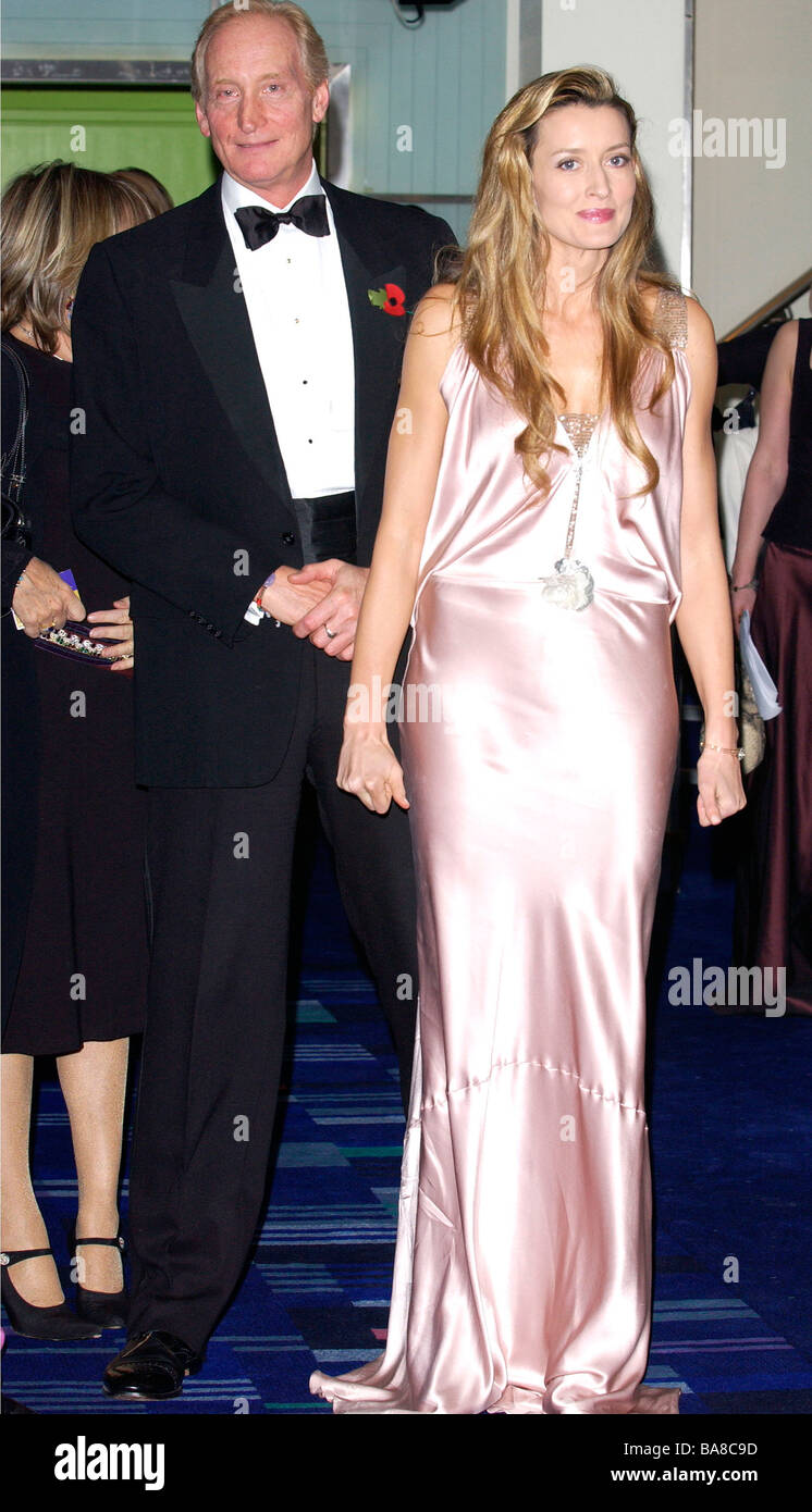 Charles Dance director of the film Ladies in Lavender with actress Natascha McElhone at Odeon Cinema Leicester Square Stock Photo