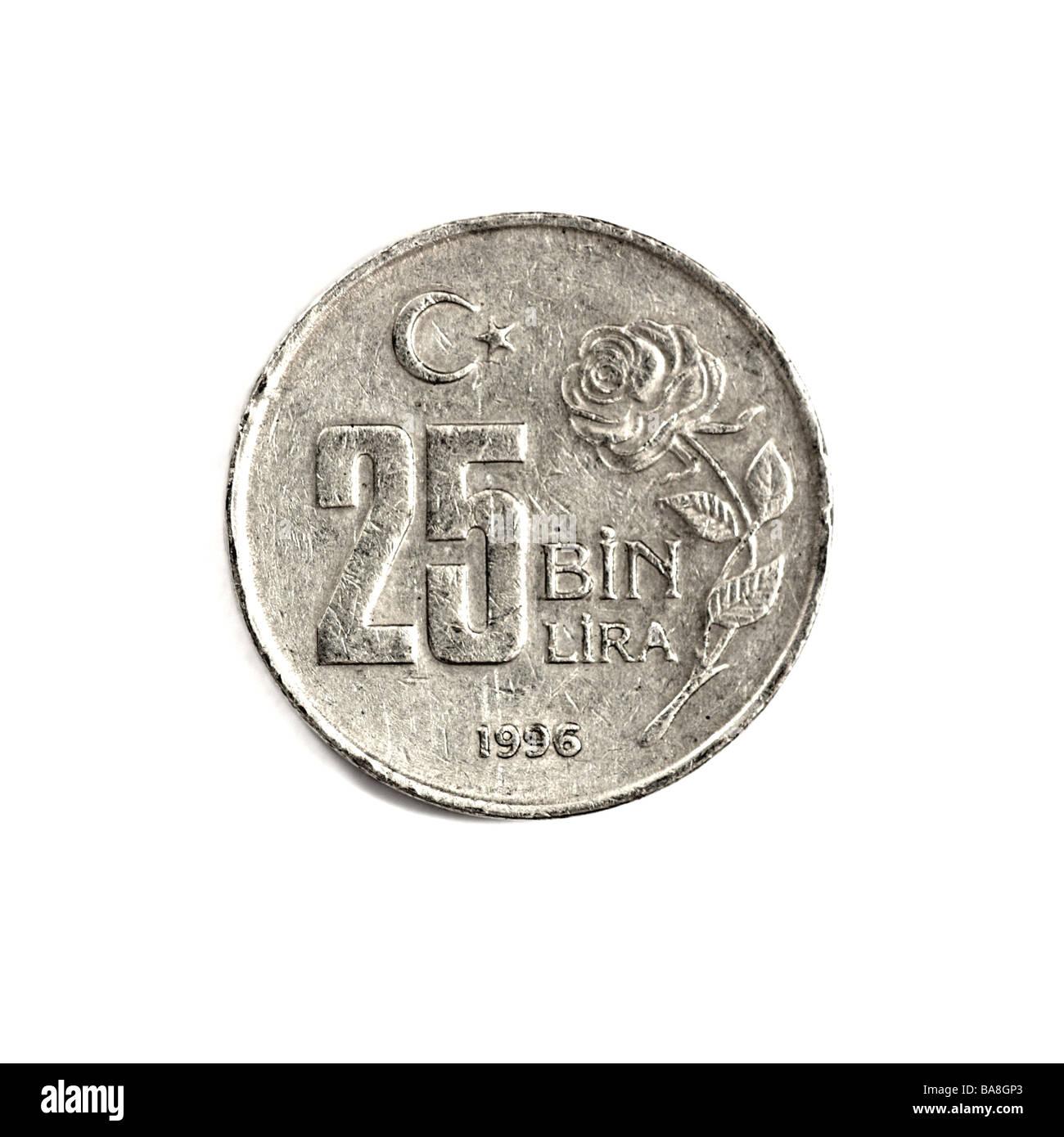 """Turkish Lira"" Stock Photo"
