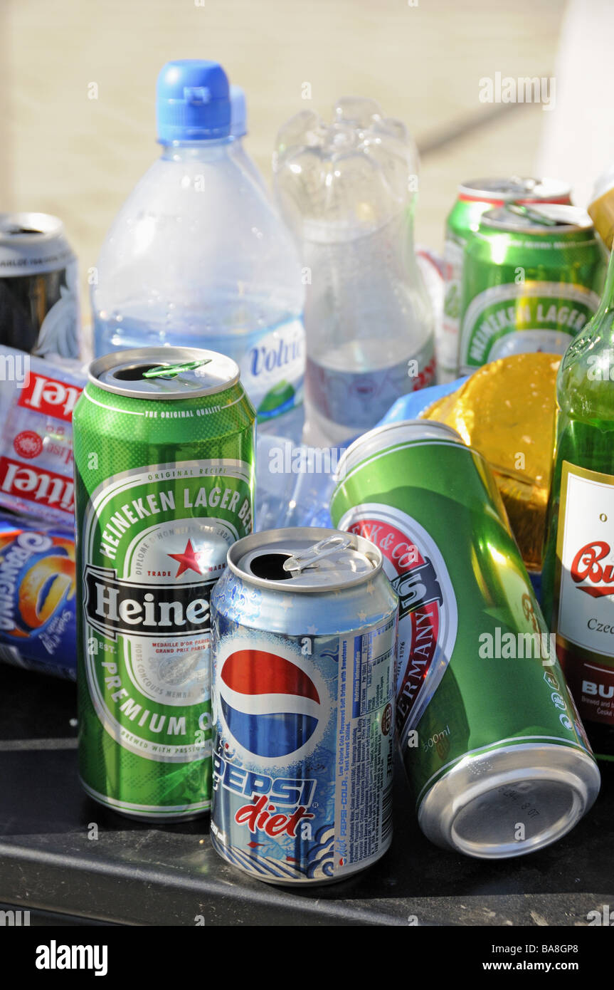Cans And Bottles Stock Photos Amp Cans And Bottles Stock Images Alamy