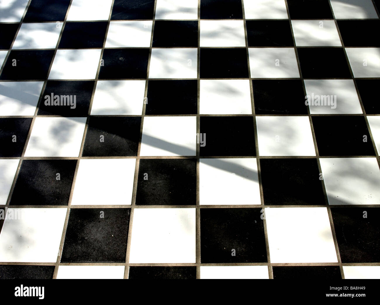 Checkered Floor Tile Stock Photos Checkered Floor Tile Stock