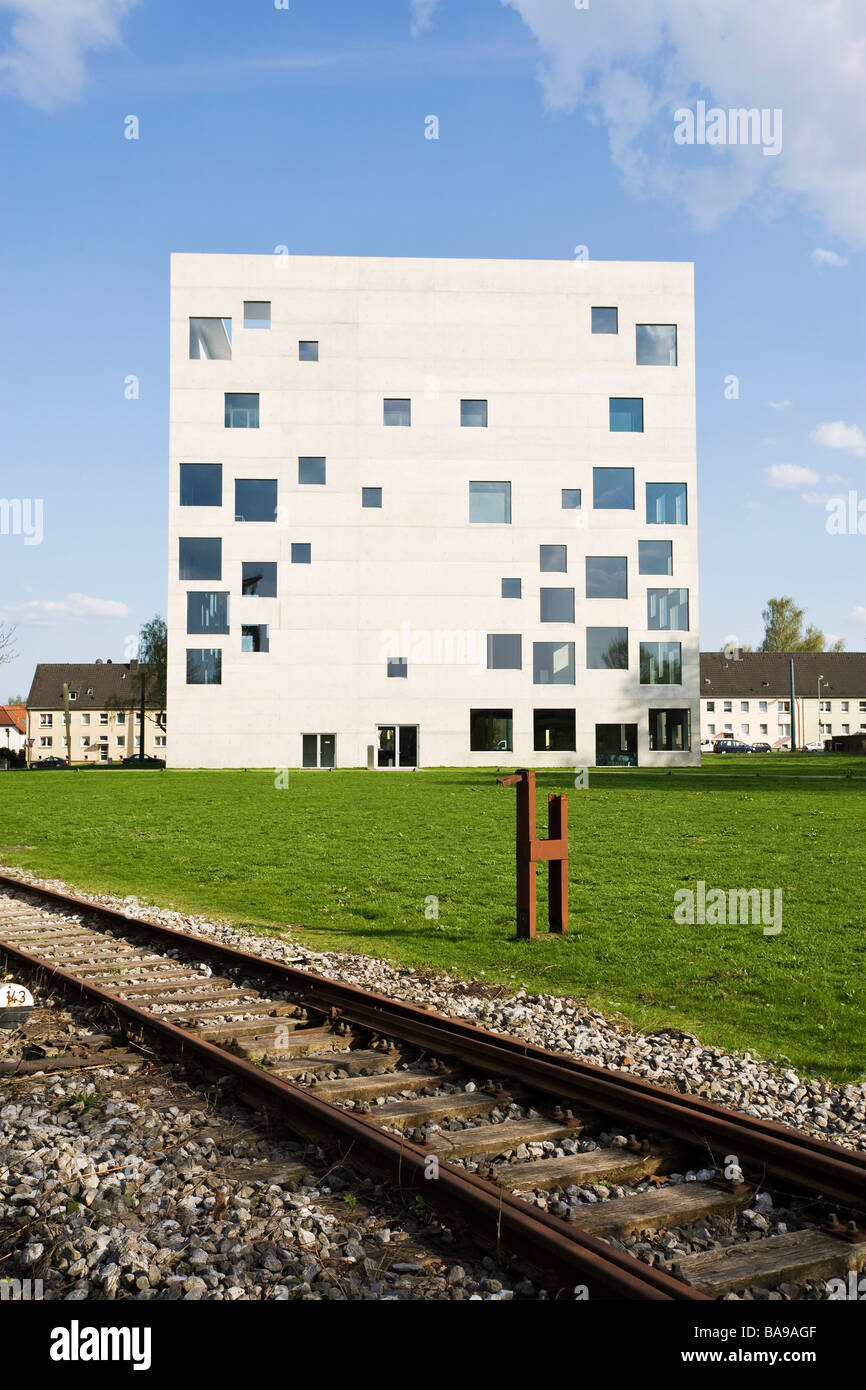 Zollverein School building, Essen - Stock Image