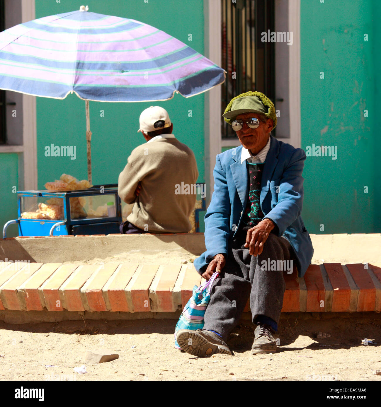 March Holidays In Bolivia: Traditional Bolivian Man Stock Photos & Traditional