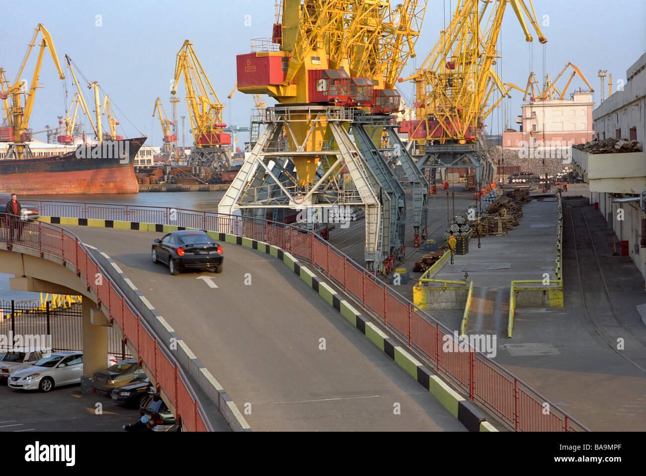 Seaport - Stock Image