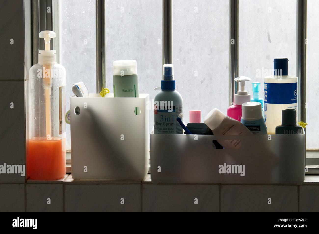 Mess bathroom - Stock Image