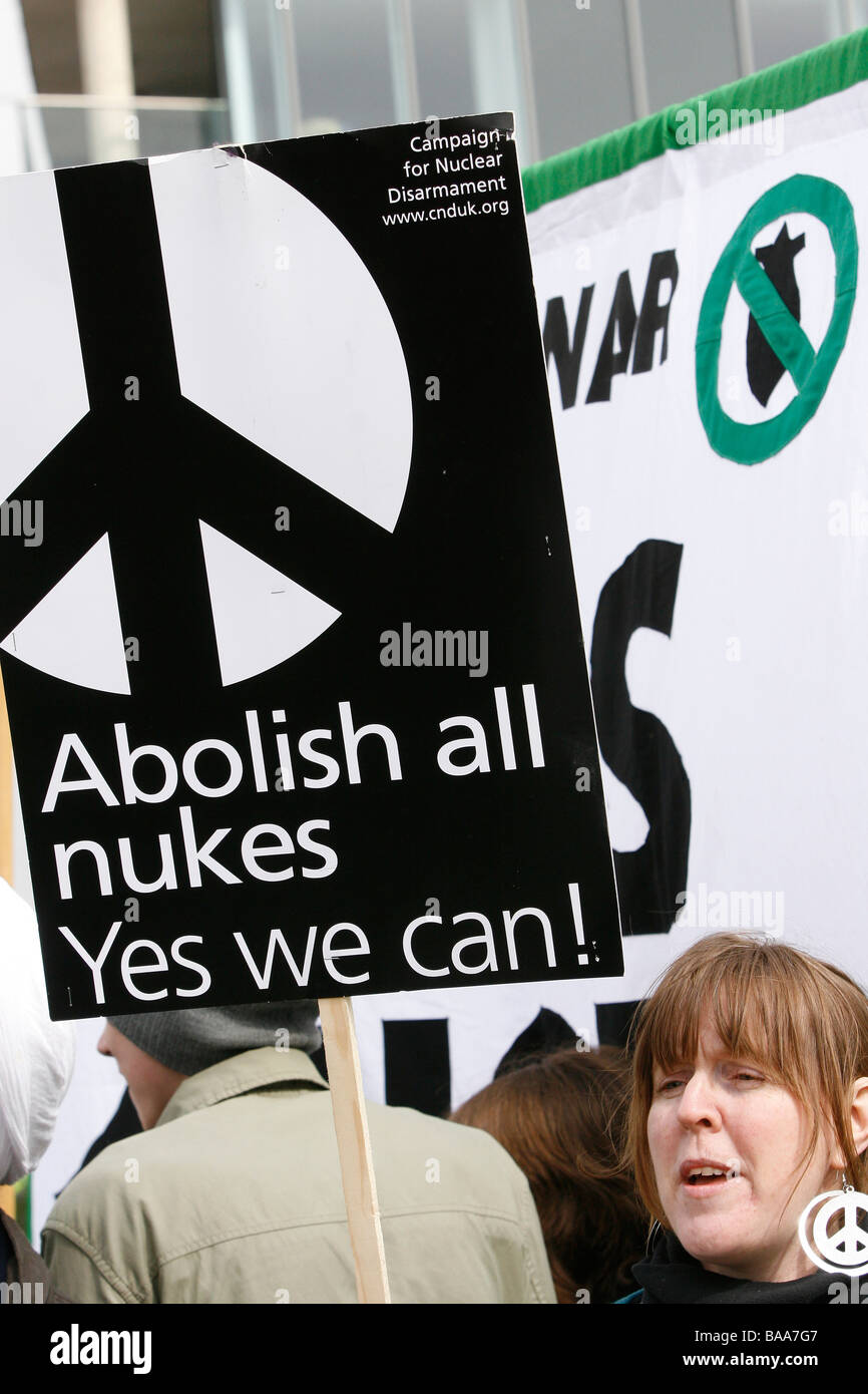 Campaign for Nuclear Disarmament - Stock Image