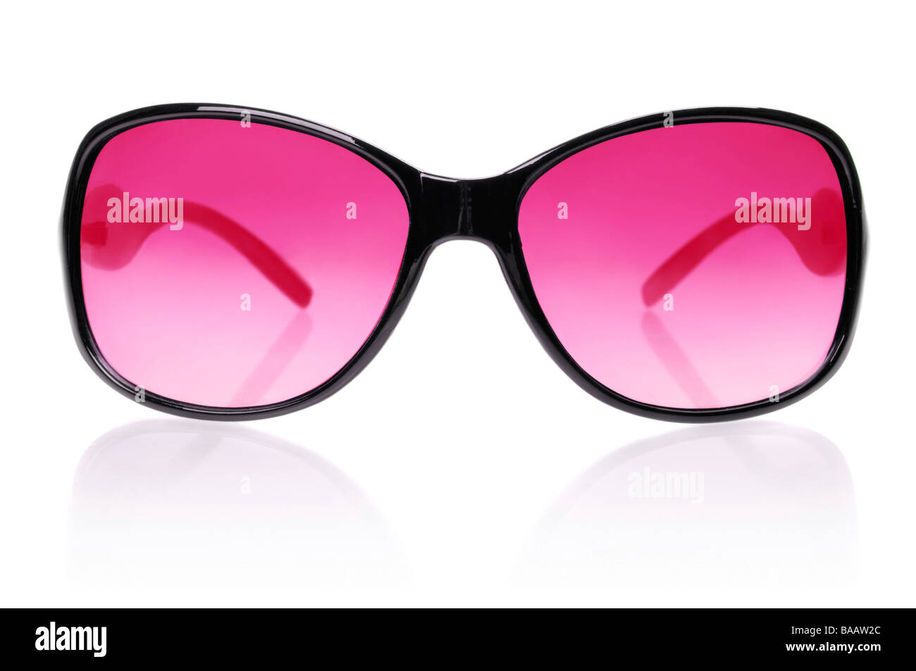 Pink sunglasses - Stock Image