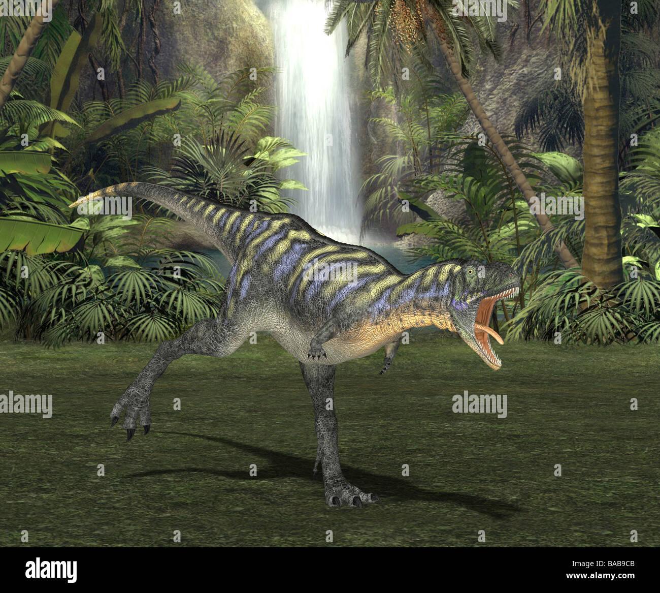 dinosaur aucasaurus Stock Photo