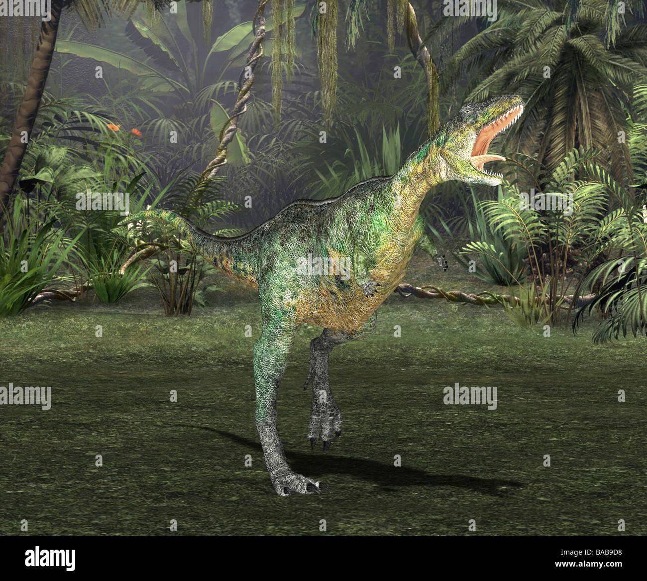 dinosaur aucasaurusStock Photo