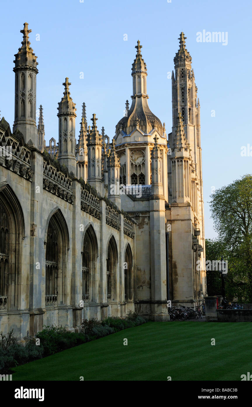 Kings College Cambridge England UK - Stock Image
