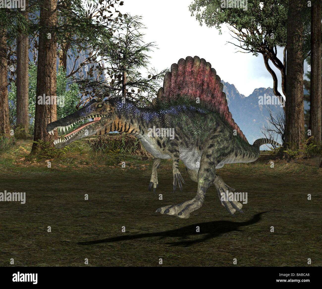 Dinosaur Dinosaurs Dino Spinosaurus Stock Photos & Dinosaur ...