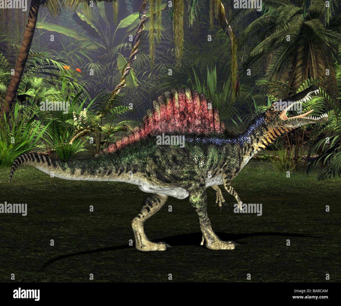 dinosaur SpinosaurusStock Photo