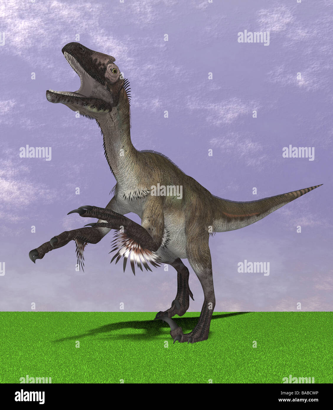 dinosaur UtahraptorStock Photo