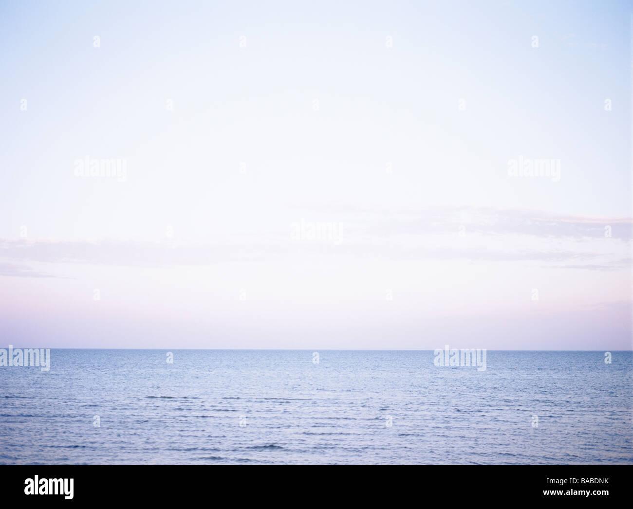 Heaven and ocean Sweden - Stock Image