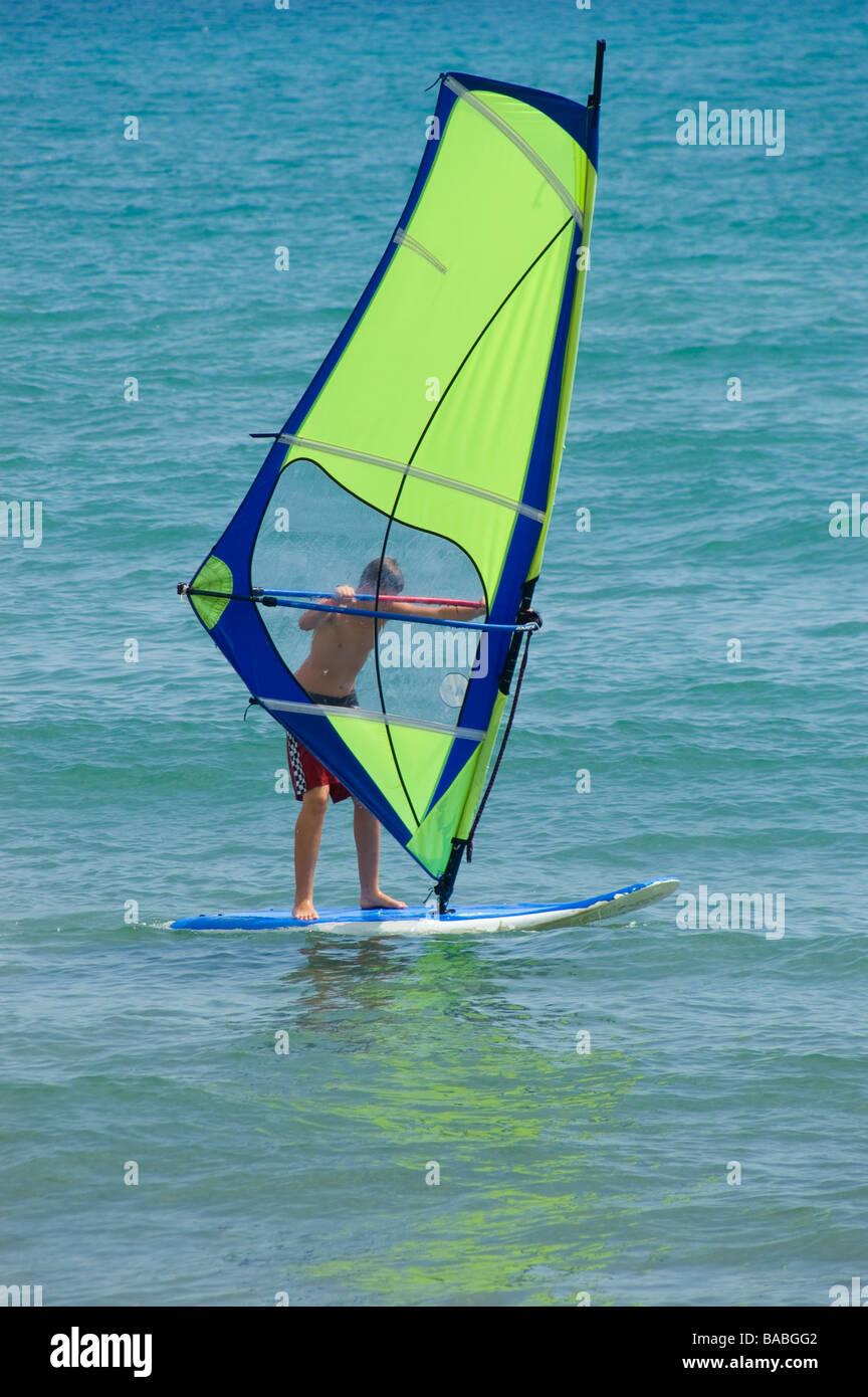 Windsurf Sail Stock Photos & Windsurf Sail Stock Images - Alamy