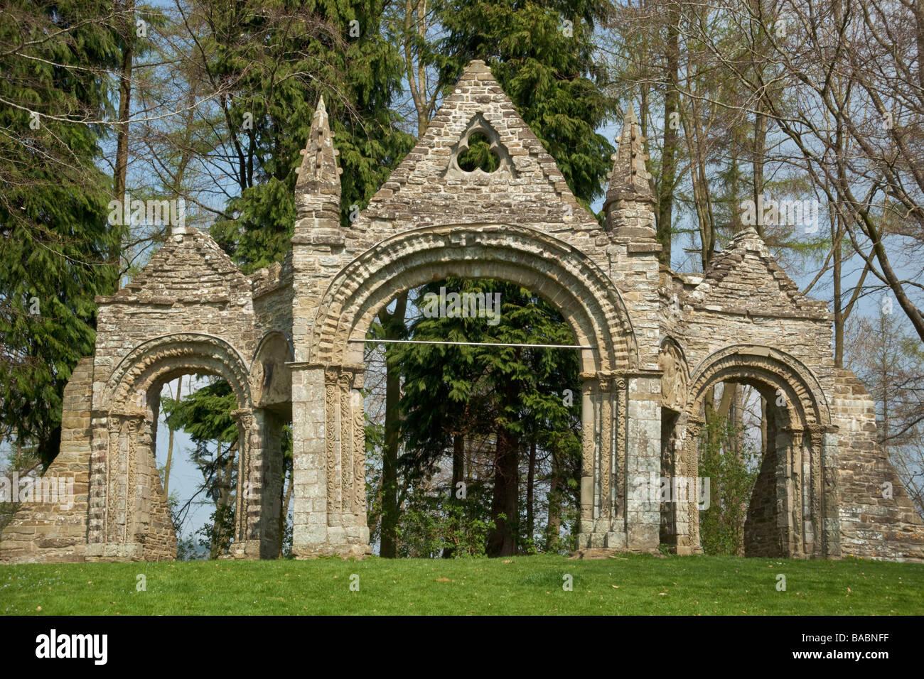 Shobdon Arches A Gothic Archway In Herefordshire