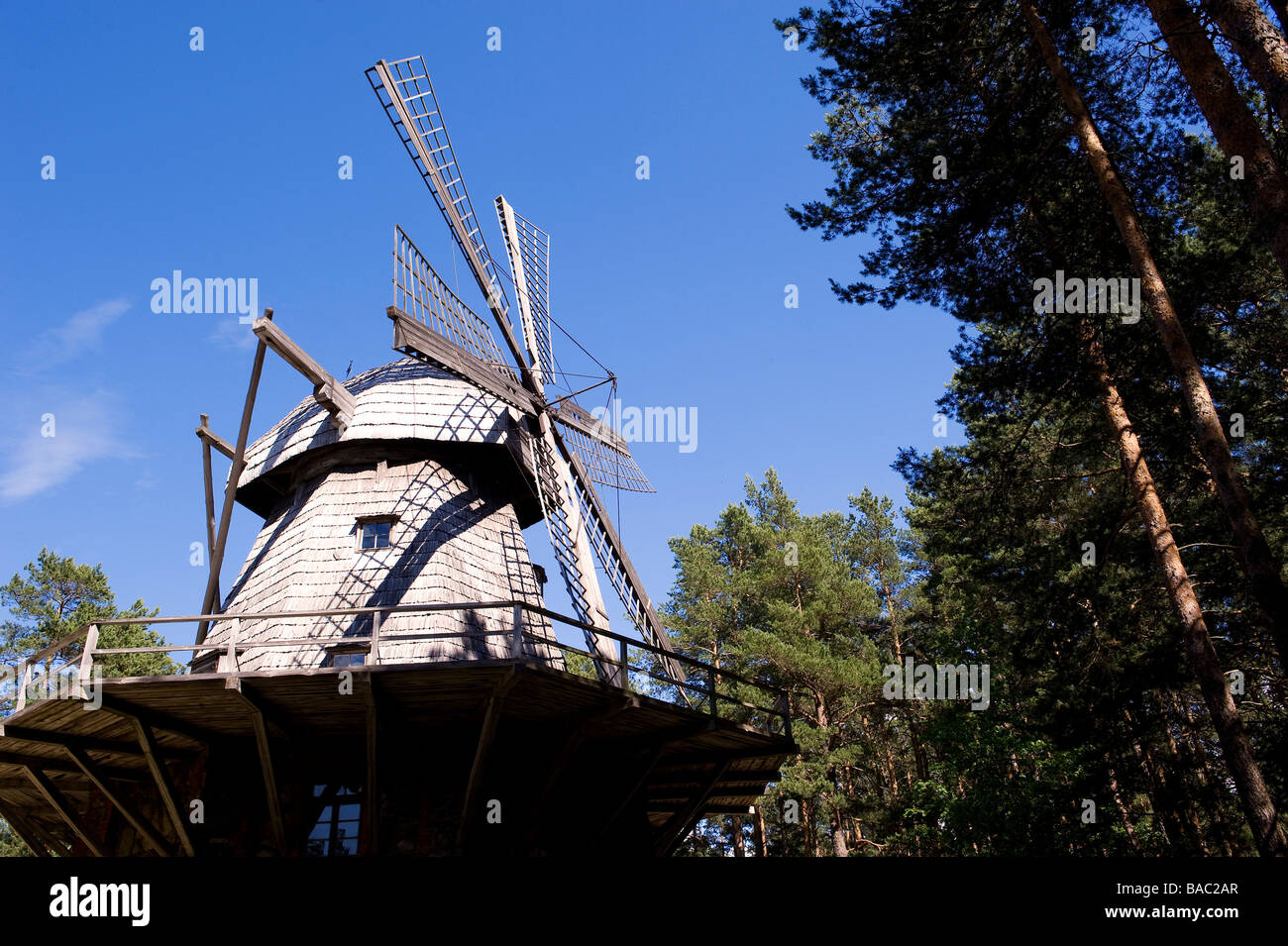 Latvia (Baltic States), Riga, the Ethnographic Open Air Museum - Stock Image