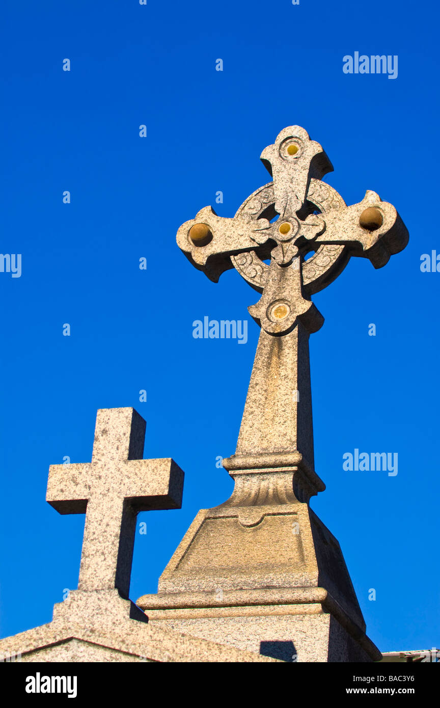 Tombstone, La Recoleta Cemetery, Buenos Aires. - Stock Image