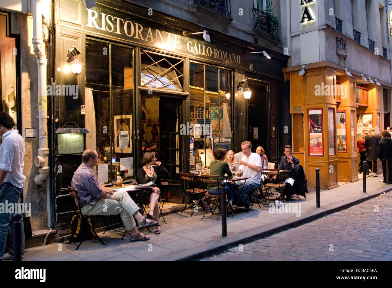 Restaurant Rue De La Harpe  Ef Bf Bd Paris