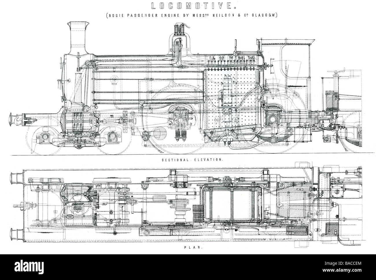 locomotive bogie and radial tank engine locomotive is a railway Stock Photo  - AlamyAlamy