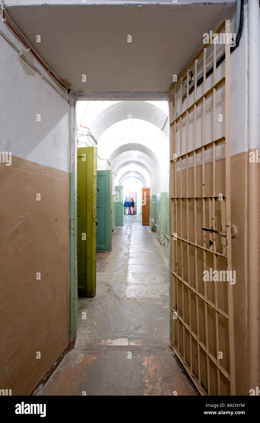 Lithuania (Baltic States), Vilnius, Genocide Victims Museum in the former KGB Headquarters, Auku 2a - Stock Image