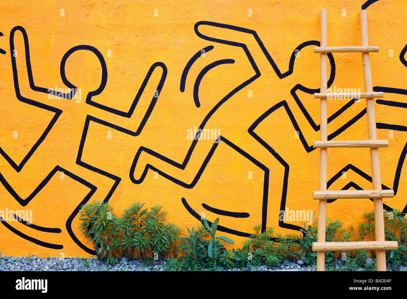 Keith Haring Stock Photos & Keith Haring Stock Images - Alamy