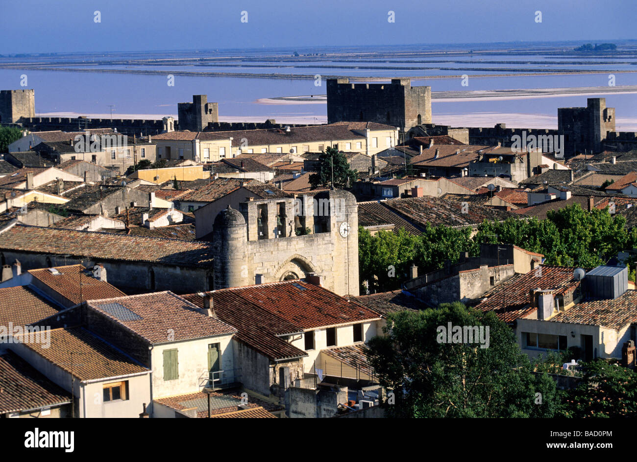 France, Gard, Aigues Mortes - Stock Image