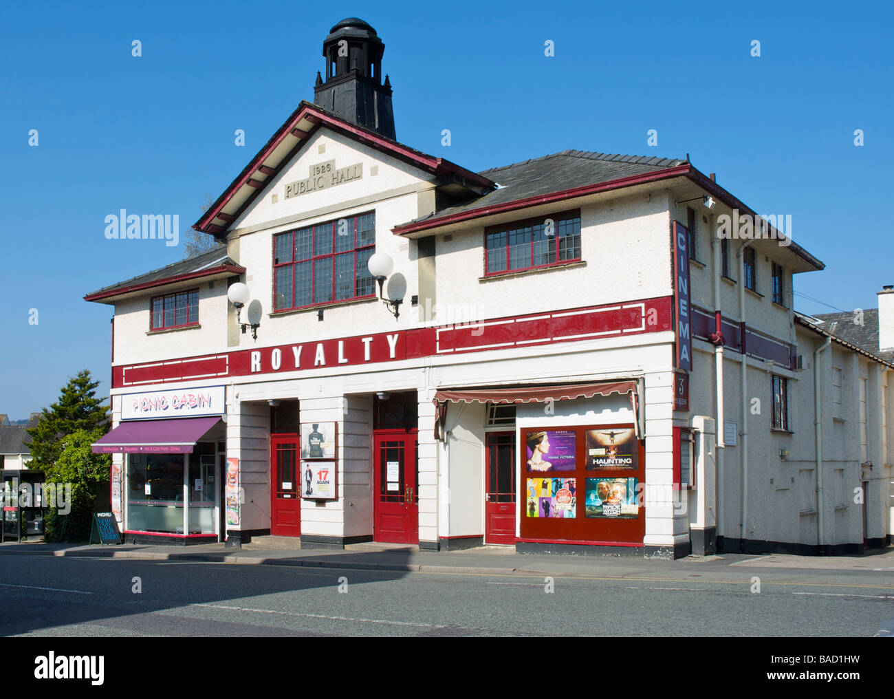 The Royalty Cinema, Bowness-on-Windermere, Lake District National Park, Cumbria, England UK - Stock Image