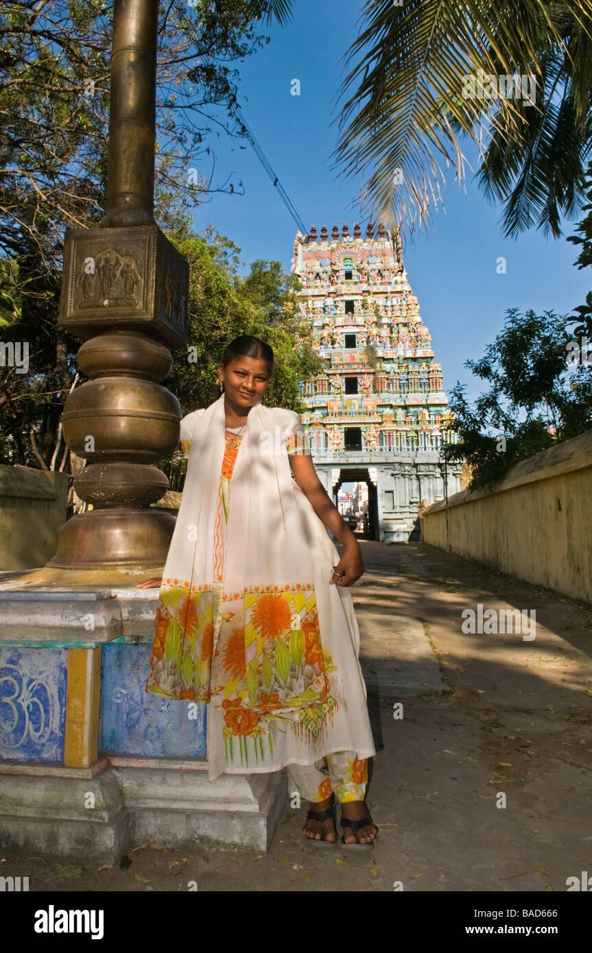 Tamil Girl Stock Photos  Tamil Girl Stock Images - Alamy-7327