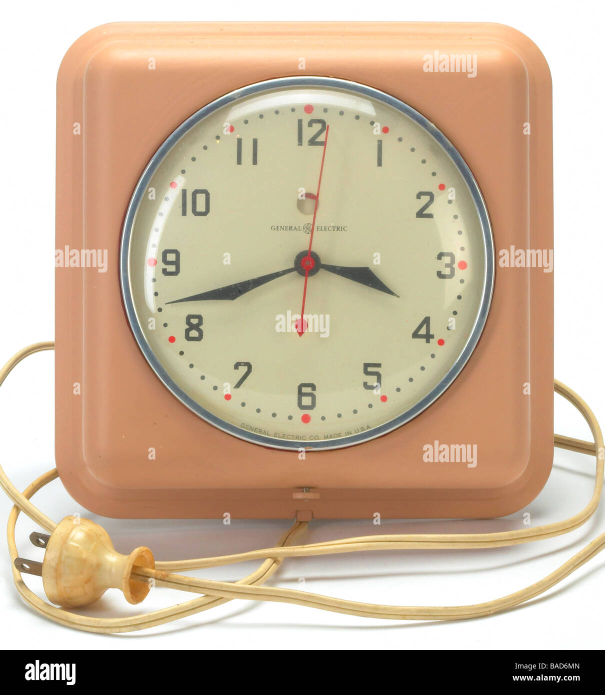 Electric Clock Stock Photos Images Alamy How To Build 28 Led Timer Old General Cut Out Image